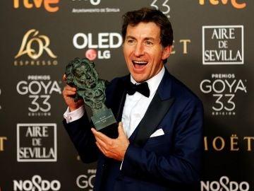 Antonio de la Torre, Mejor Actor Protagonista por 'El Reino'
