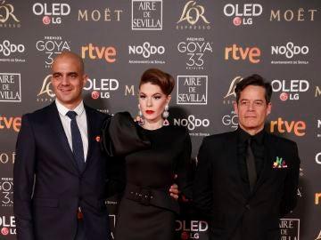 Jorge Sanz, en los Premios Goya 2019