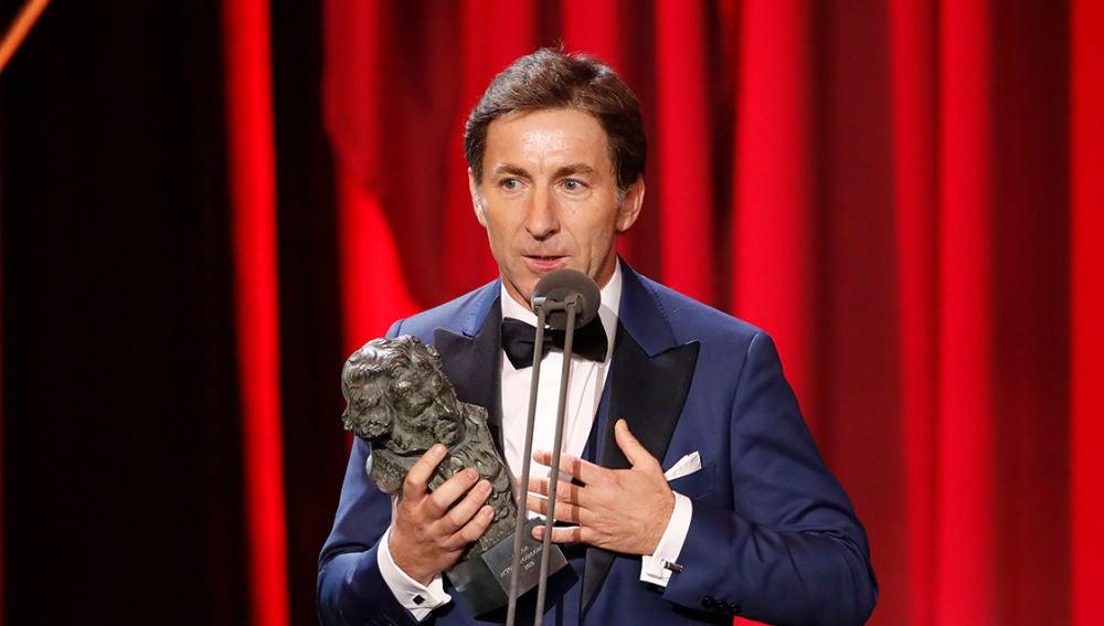 Antonio de la Torre tras ganar el Goya a Mejor Actor