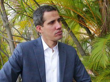 Entrevista exclusiva a Juan Guaidó en Antena 3 Noticias