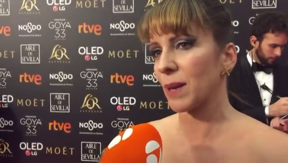 Eva Horrach explica por qué ha pedido a todas las mujeres de los Goya que se pusieran en pie