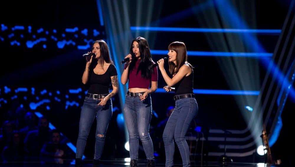Vídeo: El 'Trio Gavana' canta 'Born This Way' en las 'Audiciones a ciegas'