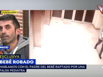 El padre del bebé raptado en un hospital de Guadalajara