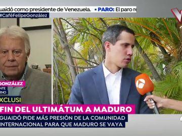 """Felipe González: """"Si a Maduro le quedara dignidad ya se habría ido porque ha destruído el país"""""""