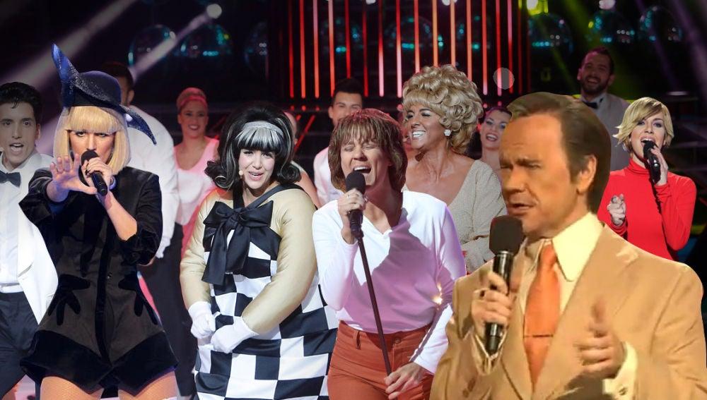 Recordamos las actuaciones más impresionantes de los artistas imitados en la gran final de 'Tu cara me suena'