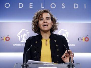 La portavoz del grupo parlamentario Popular en el Congreso de los Diputados, Dolors Montserra