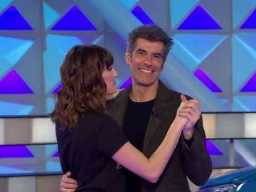 El romántico baile de Jorge Fernández y Laura Moure
