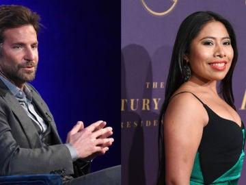 Bradley Cooper y Yalitza Aparicio