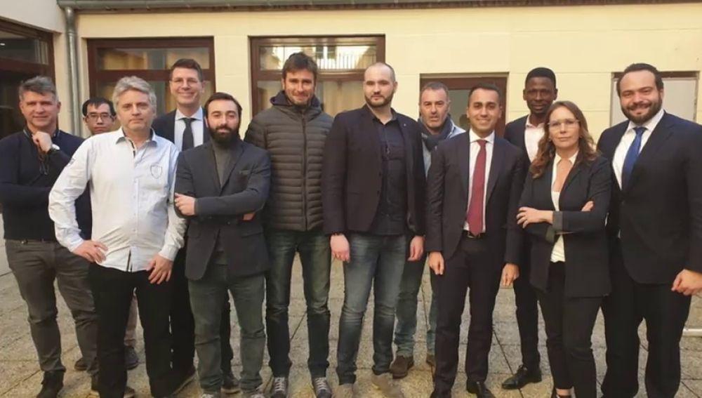 La reunión de Italia con los chalecos amarillos abre una crisis diplomática con Italia