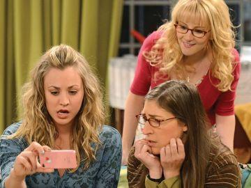 Penny, Amy y Bernadette en 'The Big Bang Theory'
