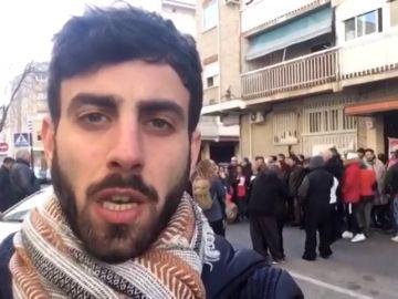 Paralizado un desahucio en Madrid tras negociar con la comisión judicial