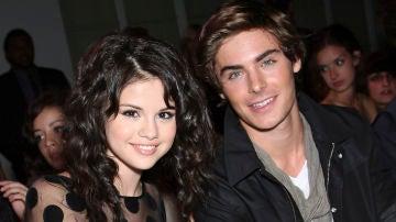 Selena Gomez y Zac Efron