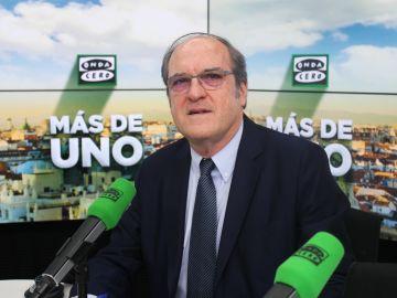 Ángel Gabilondo en los estudios de Onda Cero