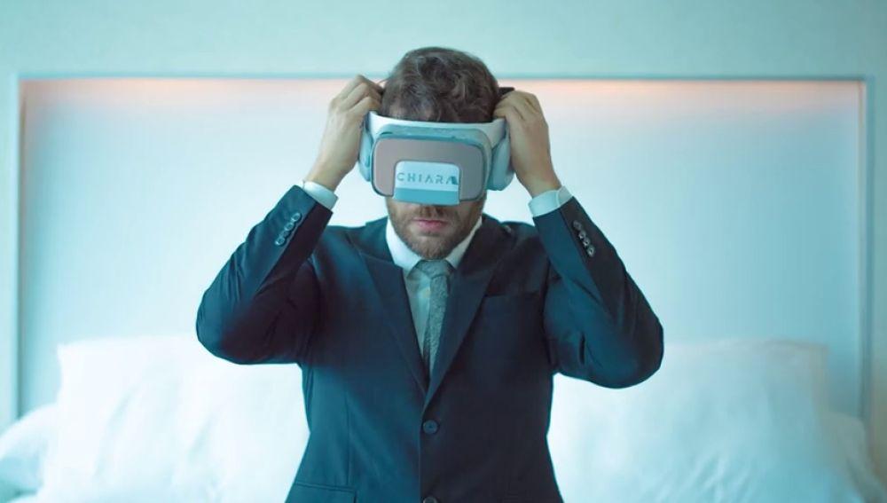 Diseñan unas gafas de realidad virtual para aprender a hablar en público
