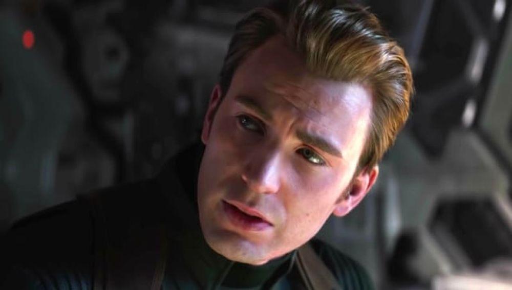 Capitán América en 'Vengadores: Endgame'