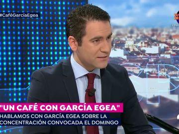 """Teodoro García Egea: """"Todos somos iguales ante la ley y el único relator posible es la Constitución"""""""