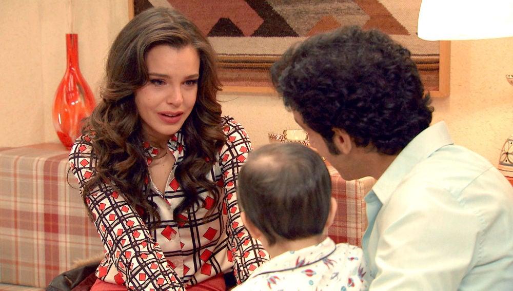"""Ignacio se disculpa con María por ser """"un borrico"""""""