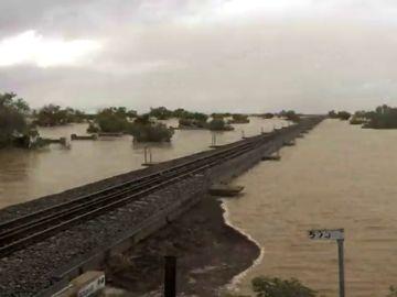 Las lluvias torrenciales en Australia dejan dos muertos y más de un millar de evacuados
