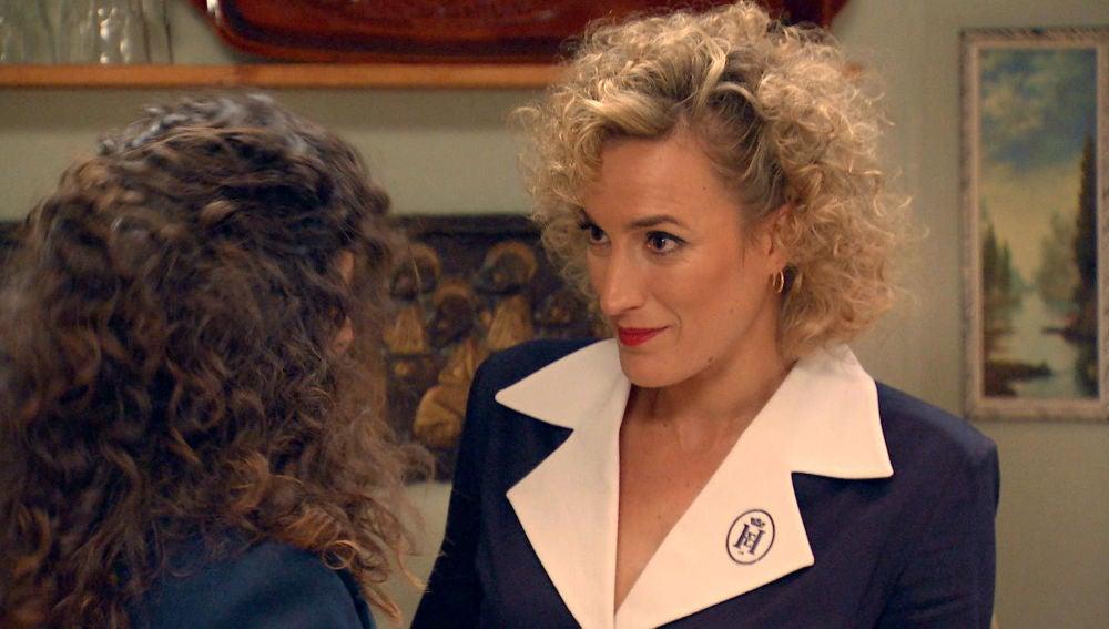 Silvia, dispuesta a ayudar a Natalia a escapar de las garras de Gabriel