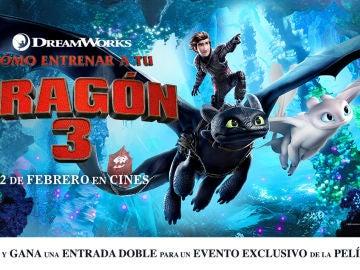 Concurso 'Cómo entrenar a tu dragón 3'