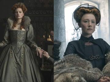 Margot Robbie y Saoirse Ronan en 'María Reina de Escocia'