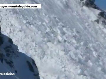 Tres esquiadores resultan heridos al ser sorprendidos por una avalancha en el Valle de Arán