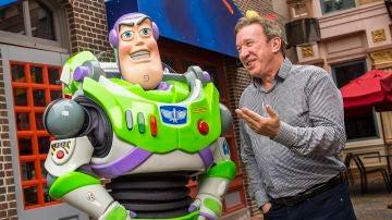 Tim Allen es Buzzlightyear en 'Toy Story'