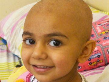 Zainab, la niña que necesita un trasplante de sangre