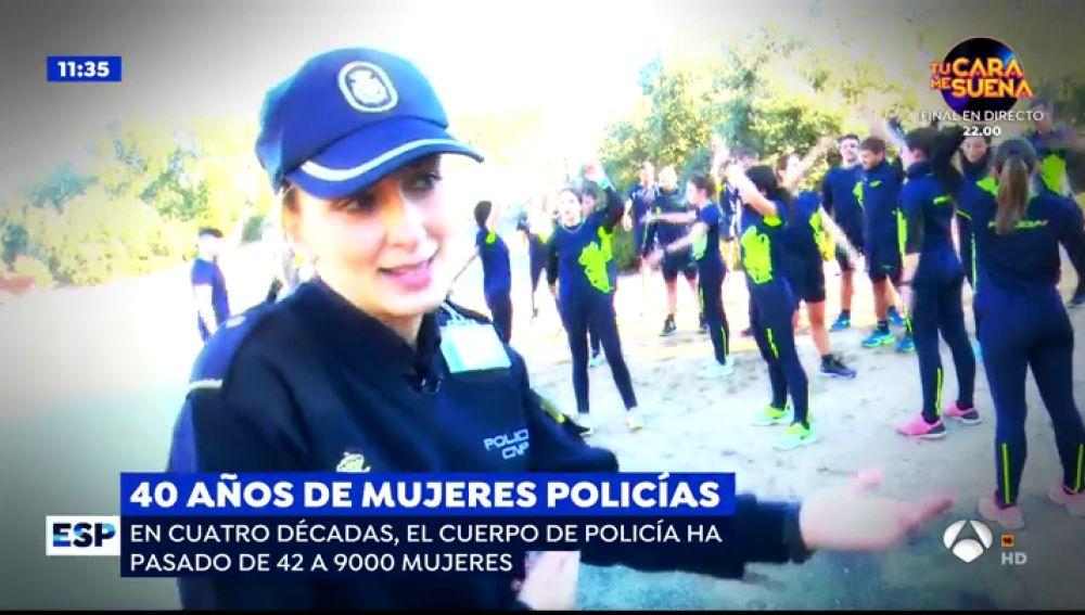 Se cumplen 40 años de la incorporación de la mujer al Cuerpo Nacional de Policía