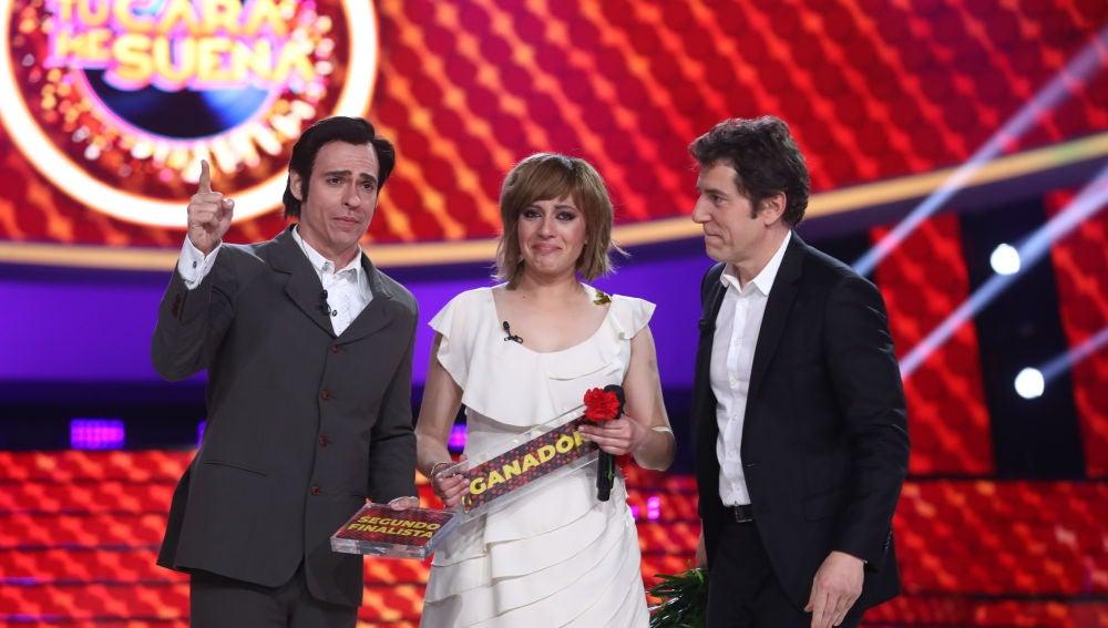 Carlos Baute segundo finalista de la séptima edición de 'Tu cara me suena'