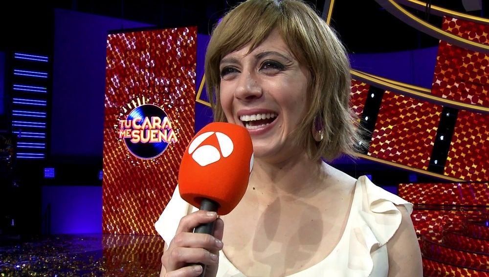 La primera reacción de María Villalón tras ganar 'Tu cara me suena' 7