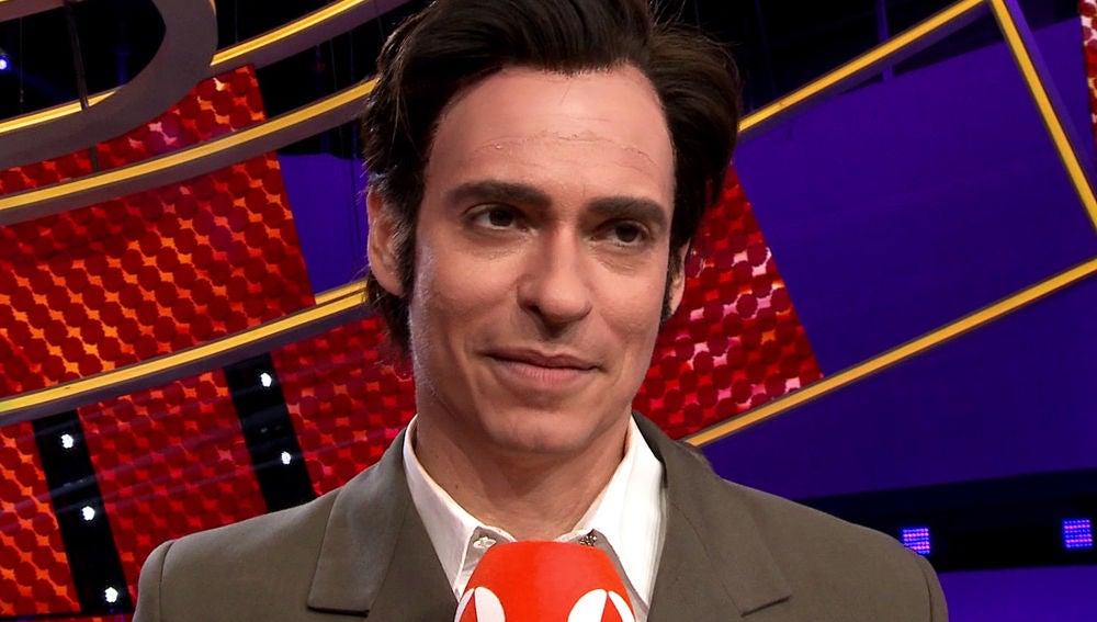 Carlos Baute, segundo finalista de 'Tu cara me suena' 7