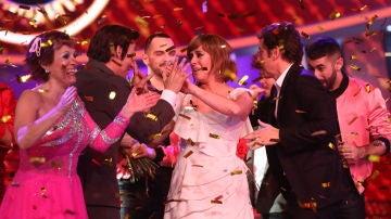 María Villalón gana la séptima edición de 'Tu cara me suena'
