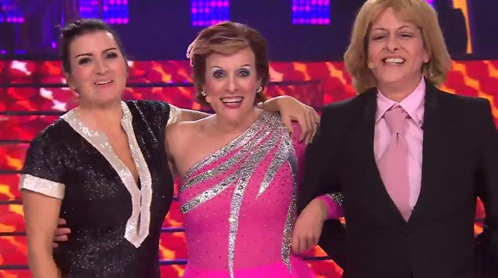Yolanda Ramos, Silvia Abril y Anabel Alonso, el trío más explosivo del humor, se reencuentra en la final de 'Tu cara me suena'