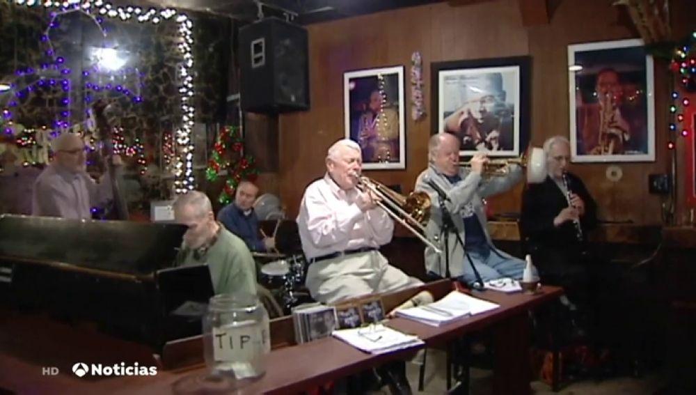 Los 'Grove Street Stompers', la banda de jazz más incombustible de Nueva York
