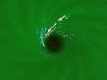 Simulación de un agujero negro
