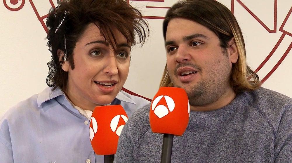 Mimi y Brays Efe, concursantes de 'Tu cara me suena' 7