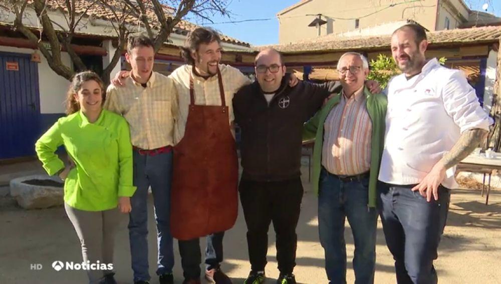 Un grupo de discapacitados gana un premio a la excelencia empresarial por sacar adelante un restaurante