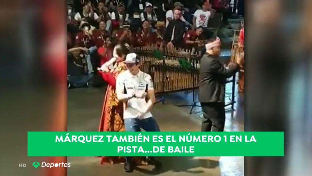 La faceta desconocida de Marc Márquez: atentos a su baile al ritmo de 'Despacito'