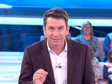 La clase de pronunciación que ha necesitado Arturo Valls en '¡Ahora caigo!'
