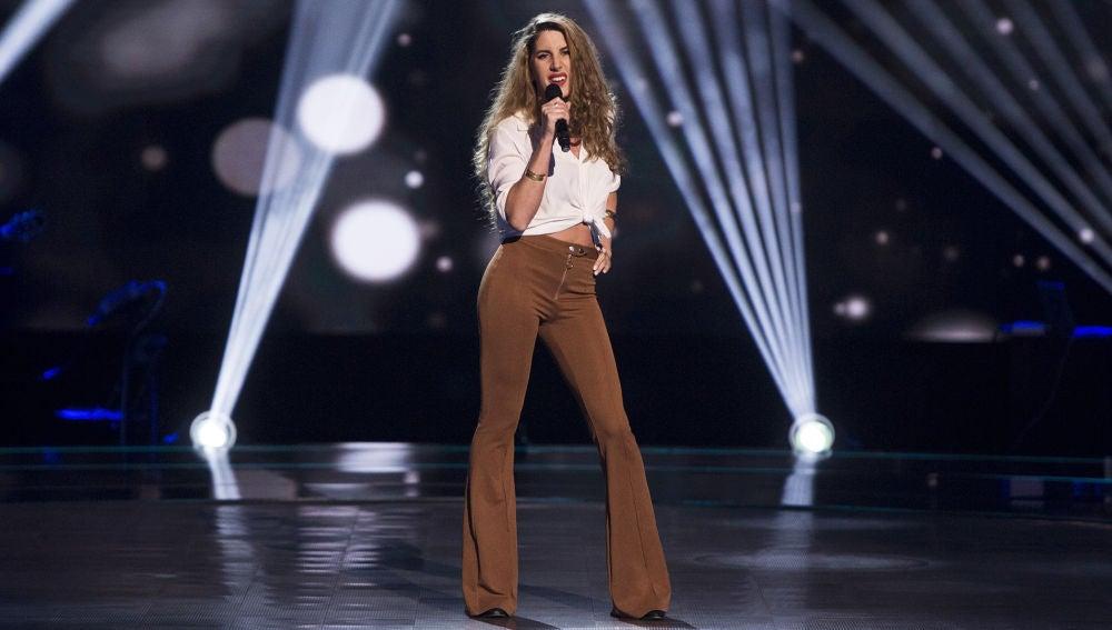 Vídeo: María Reig canta 'You and I' en las 'Audiciones a ciegas'