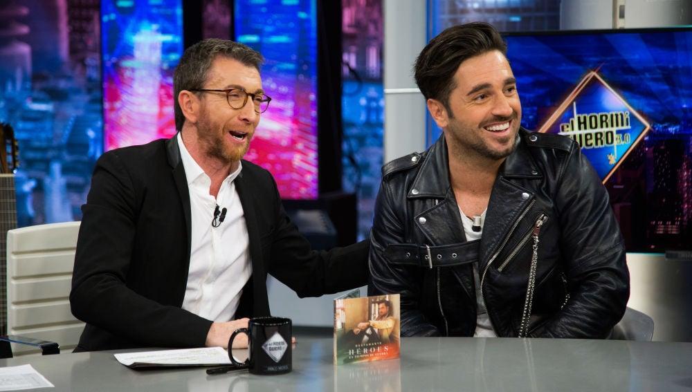 """David Bustamante habla sobre su nuevo disco en 'El Hormiguero 3.0': """"Es un himno para todos aquellos que hacen de este un mundo mejor"""""""