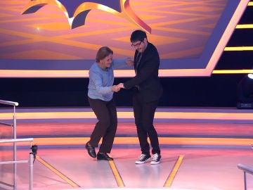 """Palmira Gogó y Juanra Bonet se mueven al ritmo de un hit de los 'Jackson 5' en '¡Boom!': """"Arturo Valls alguien tiene un ataque de cuernos"""""""