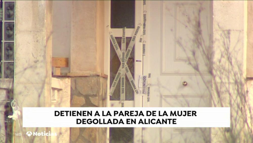 Detenida la pareja de la mujer degollada en Alicante