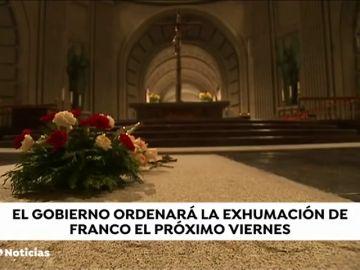 Así se prepara la exhumación de Franco