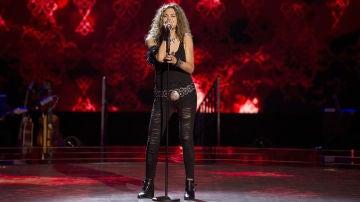 Vídeo: Laura González canta 'Whole lotta love' en las 'Audiciones a ciegas'