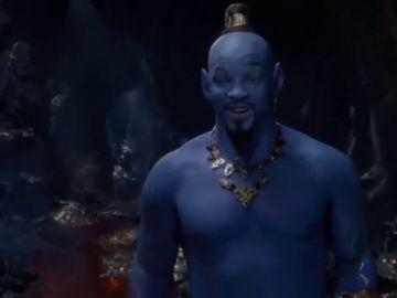 Primeras imágenes de Will Smith haciendo de genio en la película de 'Aladdín'