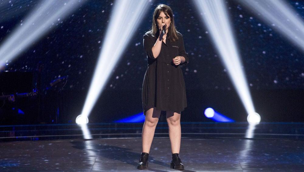 Vídeo: Natalia Bradi canta 'Like I'm gonna lose you' en las 'Audiciones a ciegas'
