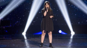 Vídeo: Natalia Bradi canta 'Like I'm gonna lose you' en las 'Audiciones a ciegas'