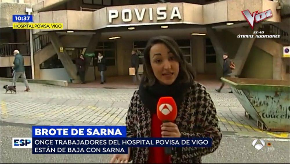 Alerta por un brote de sarna en un hospital de Vigo tras el contagio de un paciente que falleció